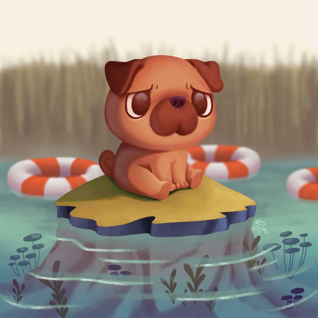 pug-sea